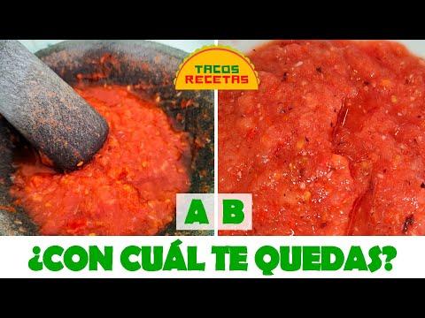 Cómo curar un molcajete nuevo... ¡Y receta de salsa roja!