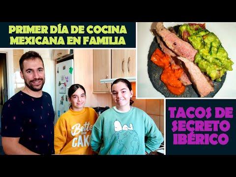 Receta en familia: Tacos de secreto ibérico