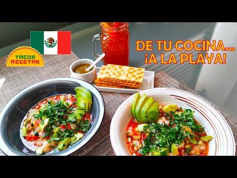 Cómo preparar cóctel de camarón mexicano. Receta sin clamato