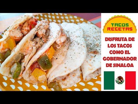 Tacos GOBERNADOR: Una RECETA inspirada en SINALOA