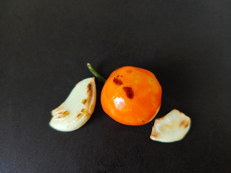 Receta de salsa de chile habanero con naranja