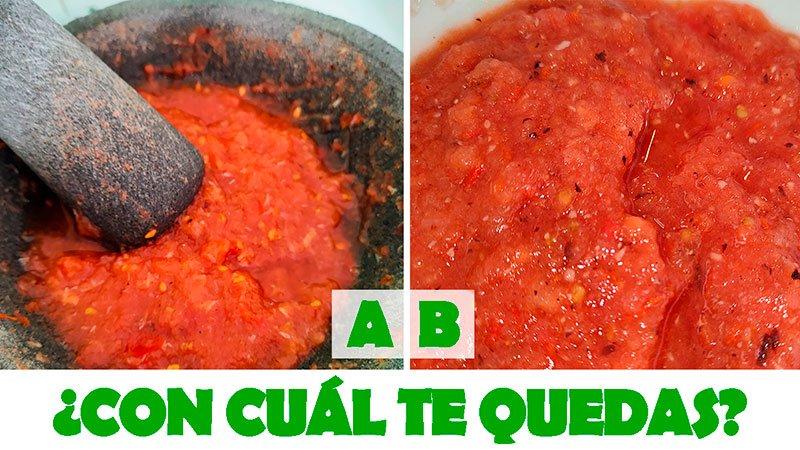 Recetas de salsa roja