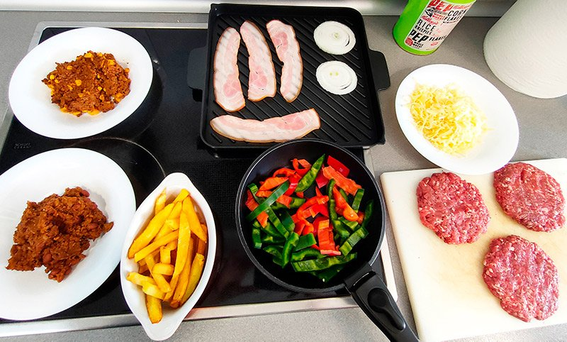 Usos del chili con carne